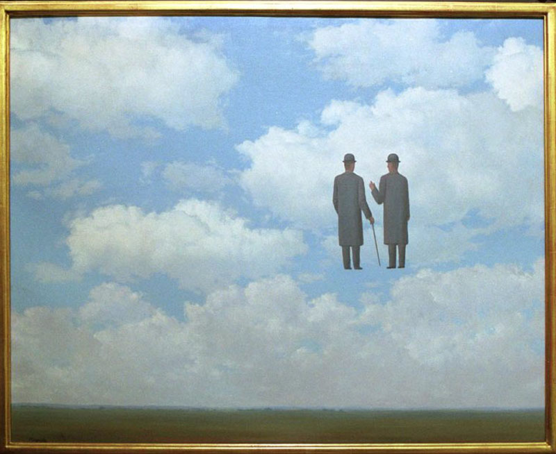 """LA RICONOSCENZA INFINITA""rene magritte *** Local Caption *** 00024029"