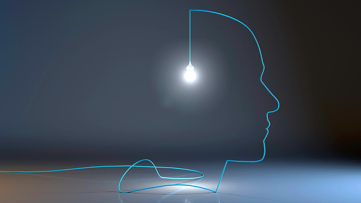lampada mente